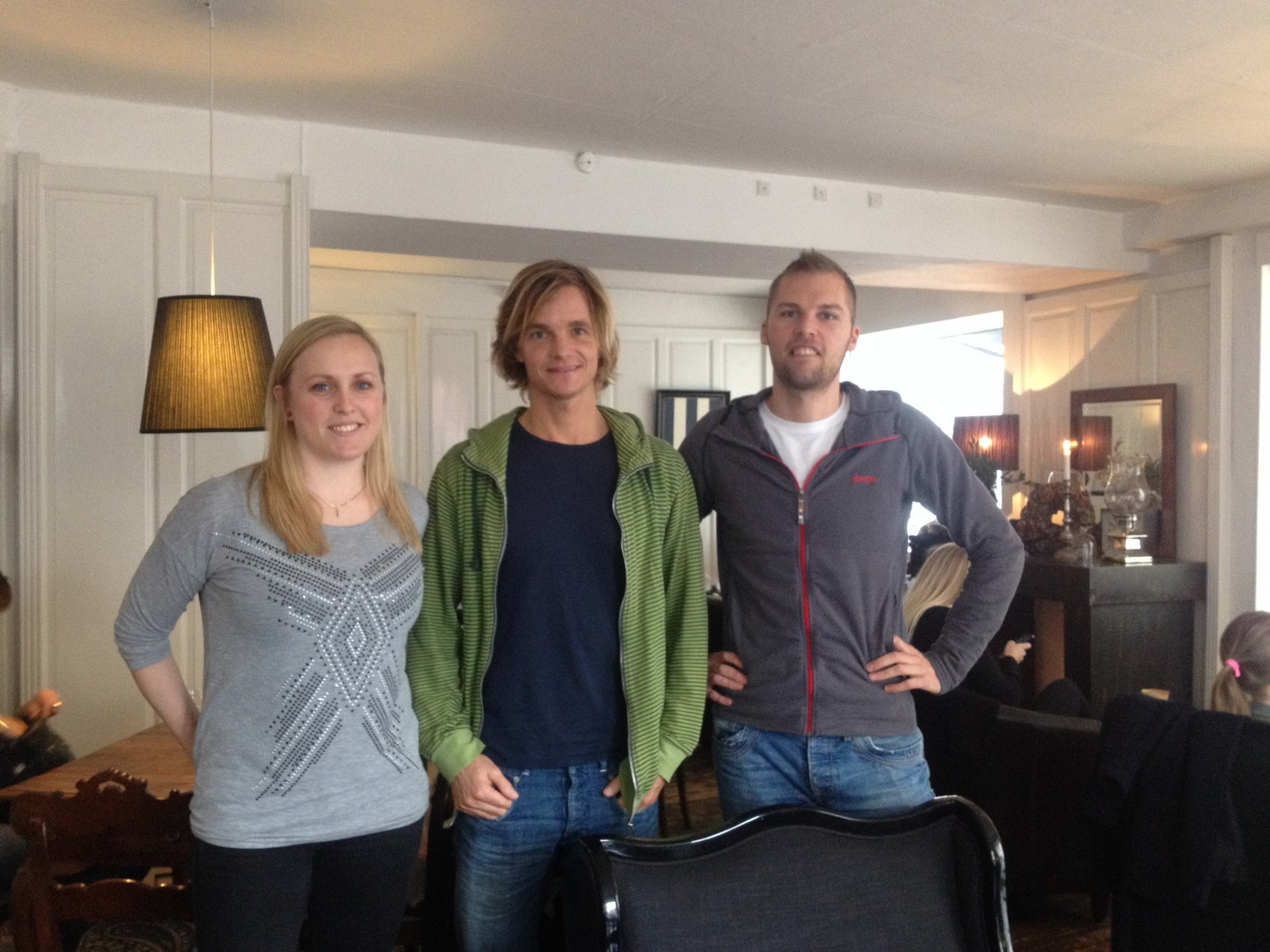 Sparring med Nicolai Bangsgaard