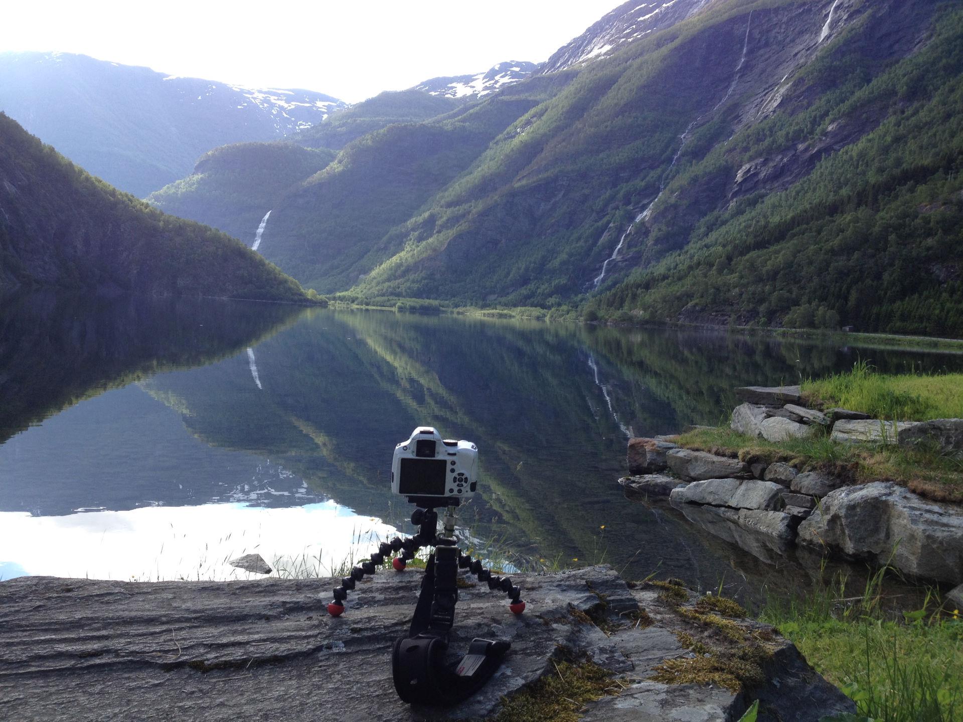 Norge 26.-28. juni - Fra Nymoen Camping til Kjørnes Camping