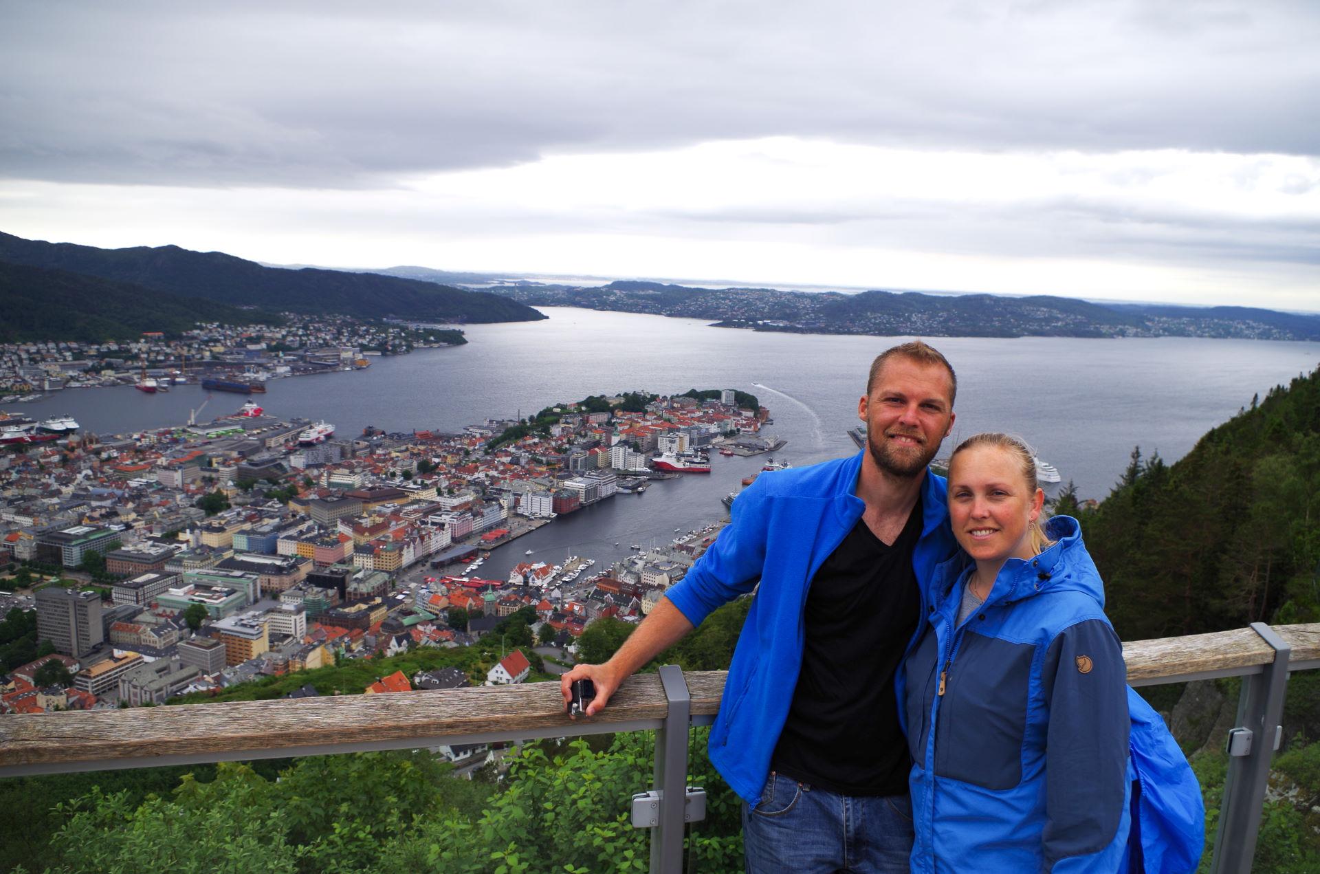 Norge 5. - 10. juli Bergen