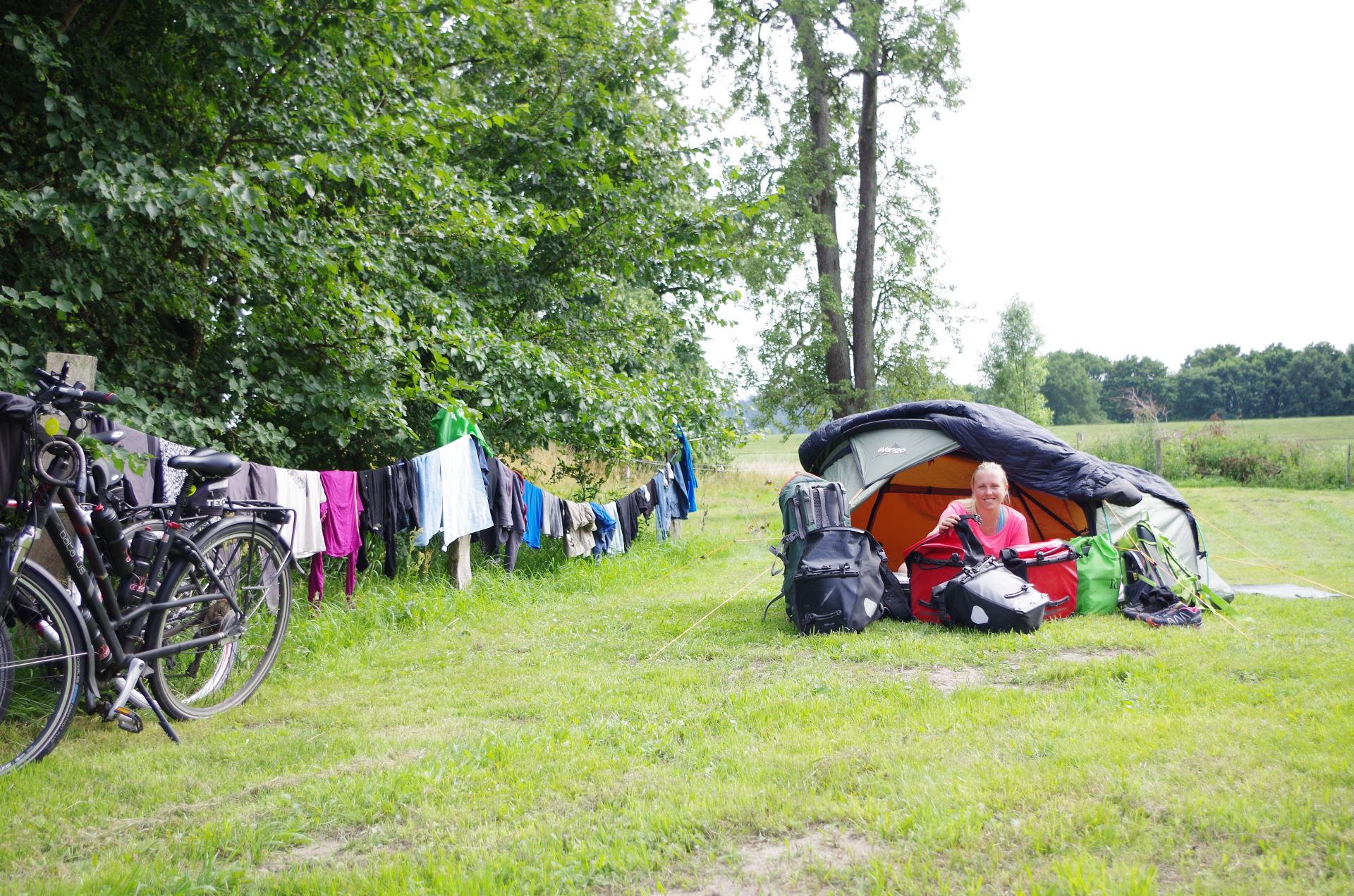 Tyskland 24.-30. juli - Camping Bankerhof, mens vi venter