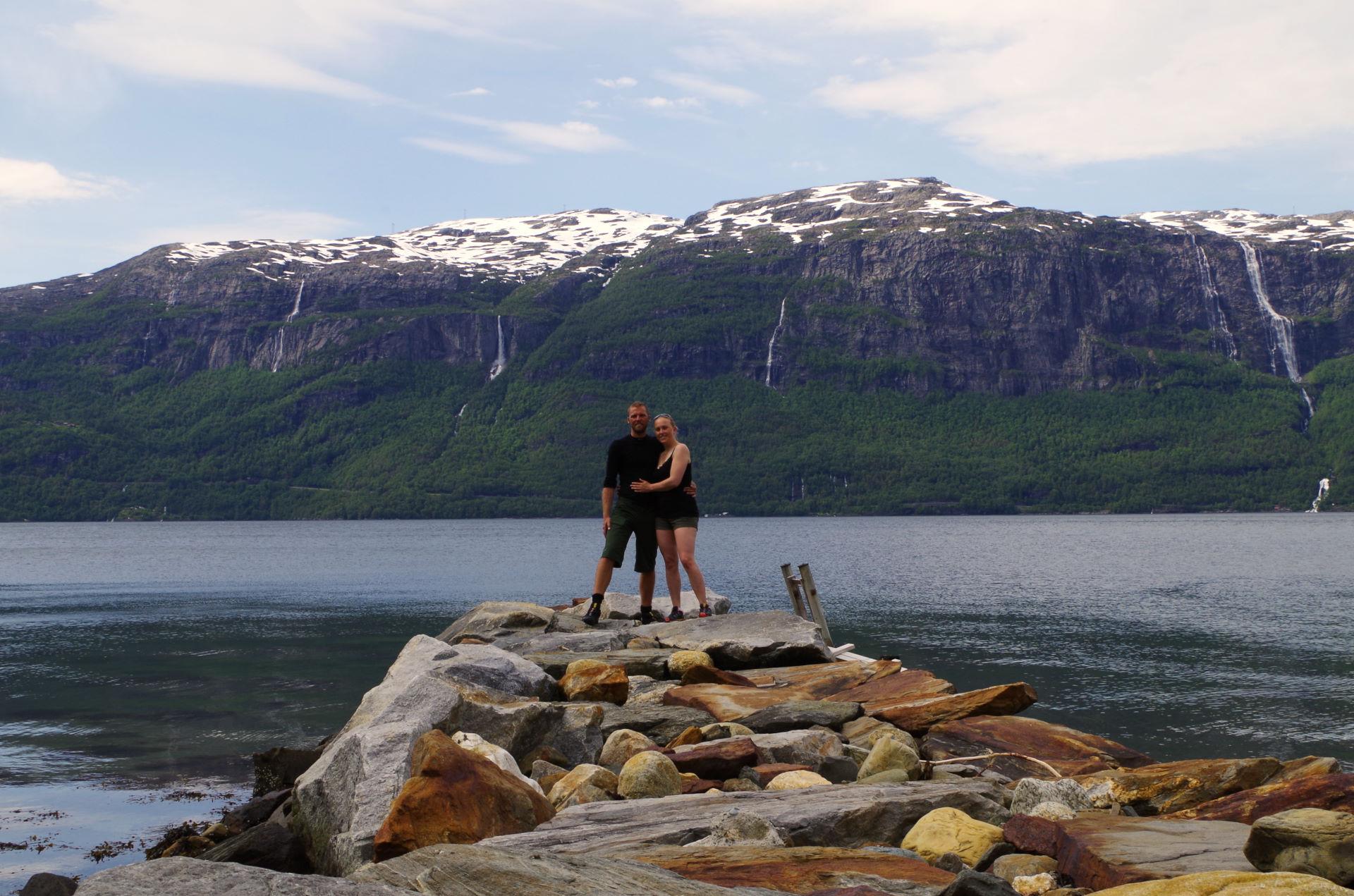 Norge 2. juli - 5. juli Fra Lothe mod Bergen