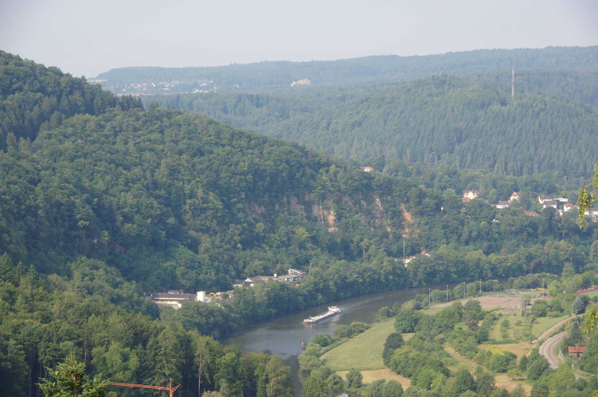 Tyskland 9.-11. august - Langs de tyske floder