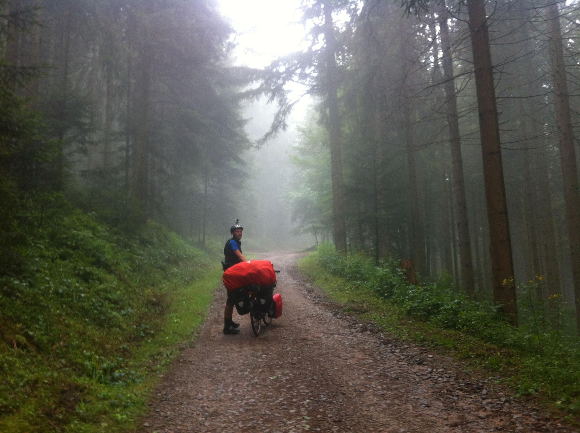 Tyskland 15.-16. august - Schwarzwalds bjerge