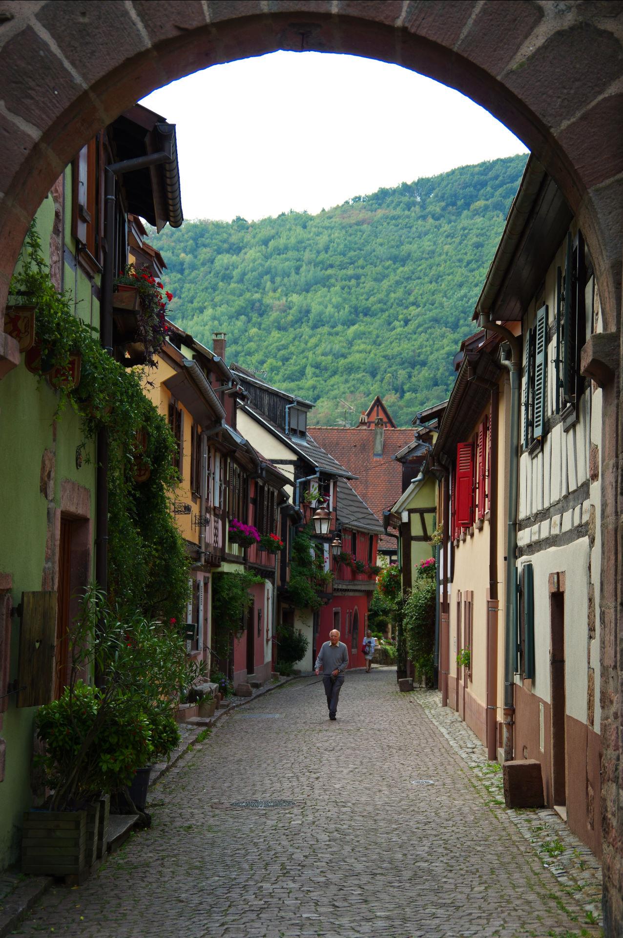 Frankrig 19.-20. august - Alsace og Kaysersberg