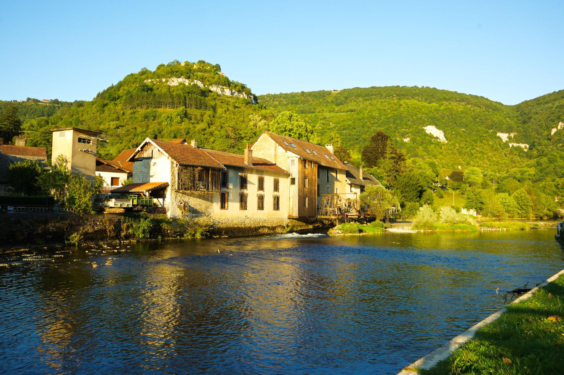 Frankrig 5. - 10. september - På vej til Alperne