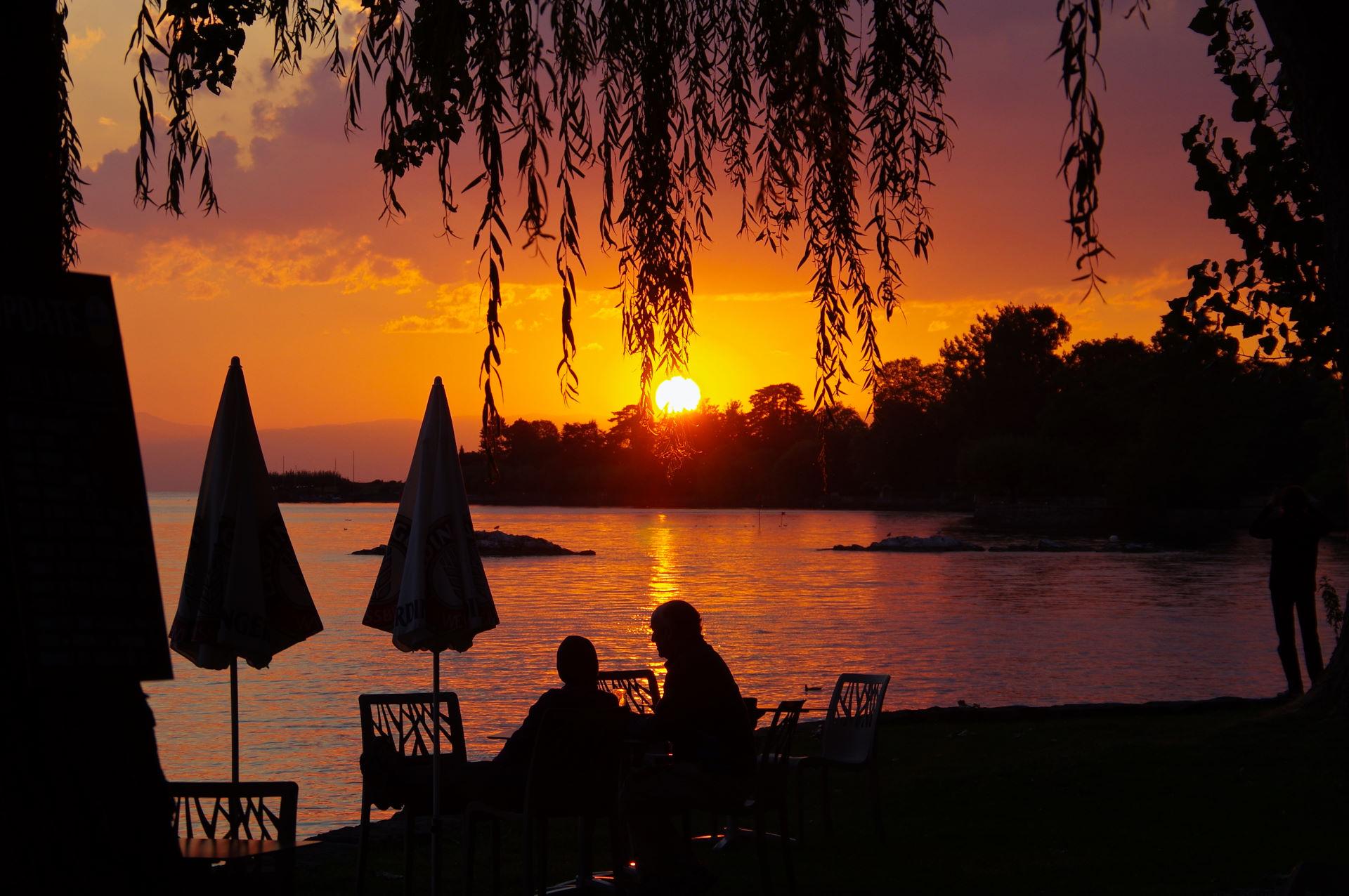 Schweiz 10.-13. september - Lac Léman til Chamonix, Frankrig