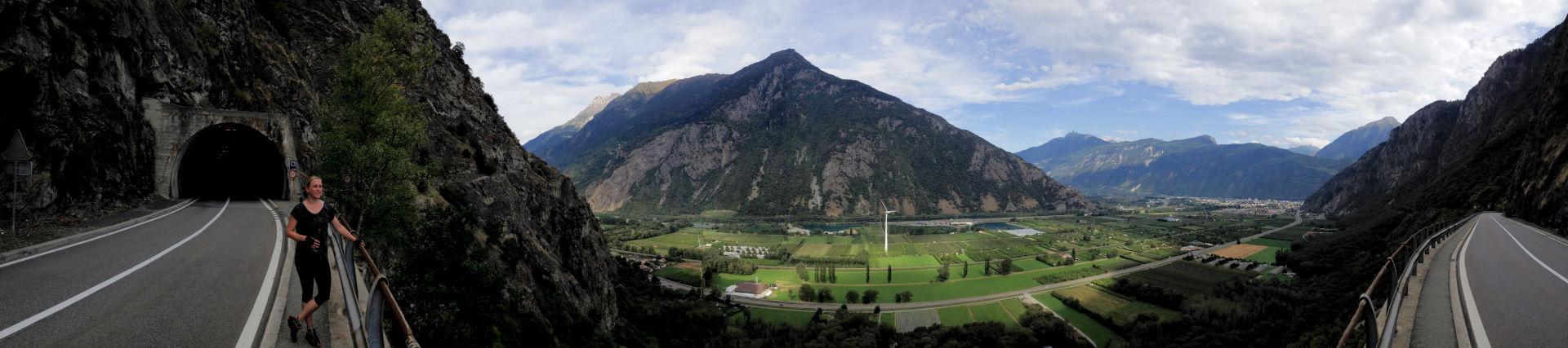 Panoramabilleder Frankrig og Schweiz