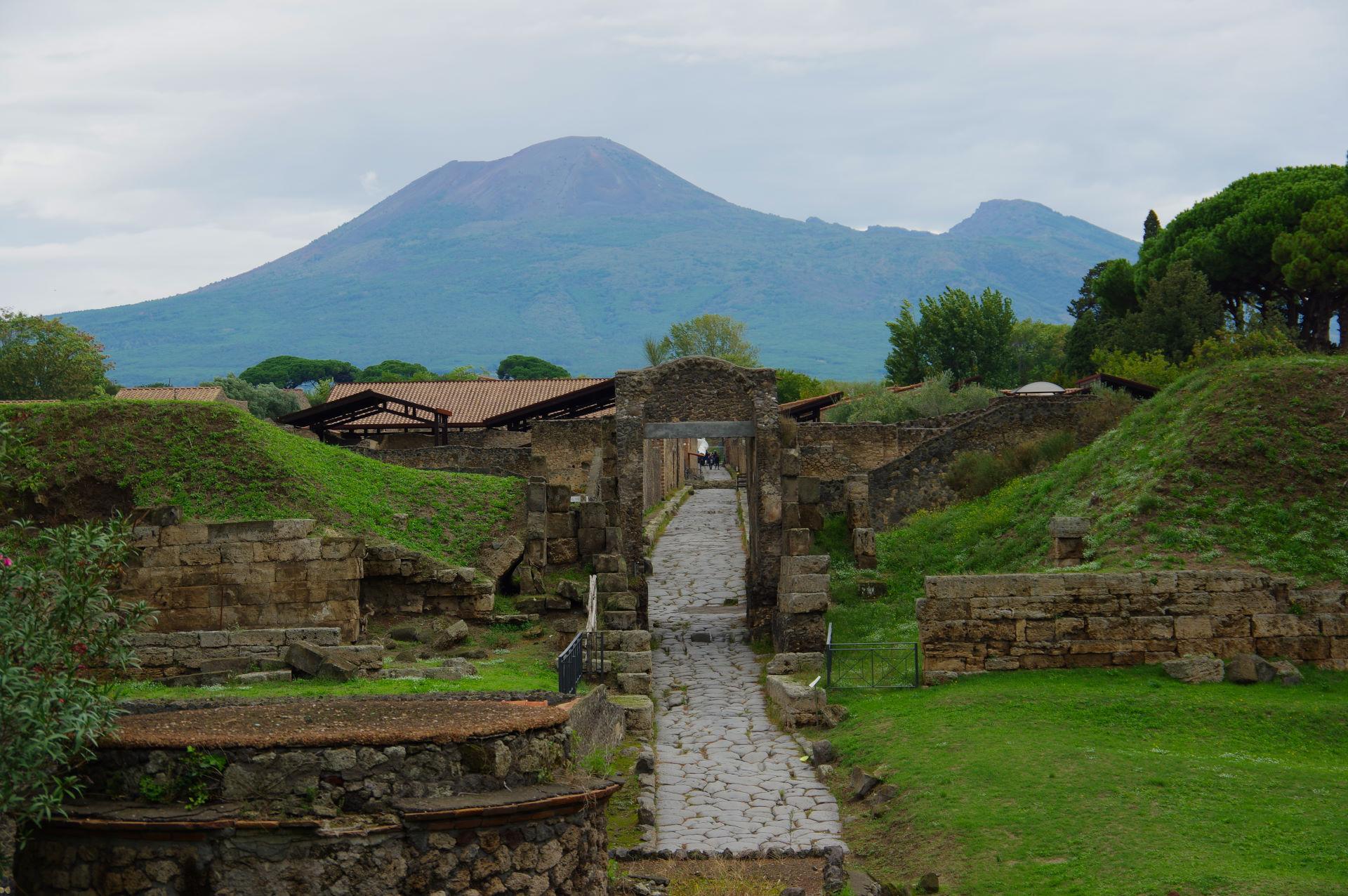 Italien 20. -24. oktober - Pompeji og Vesuv